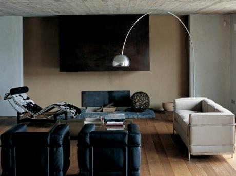 Lampadaire Arco H 232cm - Flos