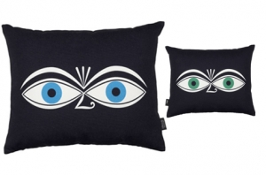 Coussin Graphic Print Pillows - Eyes