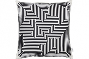 Coussin Graphic Print Pillows - Maze